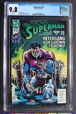 SUPERMAN #60 1st Ben Lockwood AGENT LIBERTY Supergirl CW TV 1991 CGC NM/MT 9.8