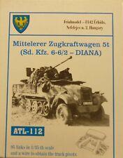 Friulmodel 1/35 Middle Zugkraftwagen 5t Diana Metal Track Link Set  ATL-112