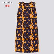Mädchen Marimekko Uniqlo Ärmelloses Kleid Gr. 5-6J (120) | 100% Baumwolle