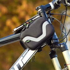 Bike Front Tube Bag Bicycle Frame Pouch 5.5'' Phone Mobile Cycling Accessories G