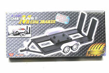 Motor Max 1:18 Scale Diecast Metal Trailer Model #76009 Authentic Detail Display