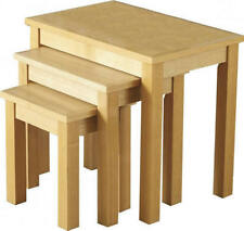 More than 200cm High Oak Nested Tables