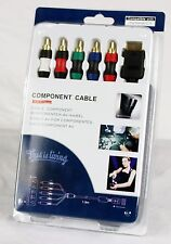 Component RCA AV Cable Cord for Sony PS2 & PS3 Composite Audio Video HD TV LCD
