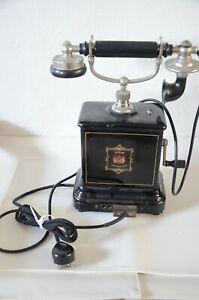 Tolles altes Telefon mit Kurbel um 1910 D��nemark klasse Zustand