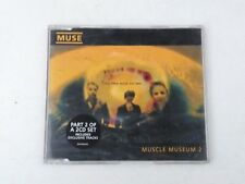 MUSE - MUSCLE MUSEUM 2 - TRASPARENT CD 1999 MUSHROOM RECORDS EX-/NM WPOSTCARD