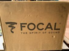 New Focal Aria 906 Bookshelf Speaker - Black High Gloss Pair (Dark Walnut)