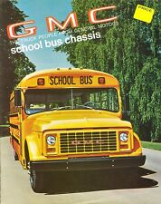 1970 GMC School Bus Chassis 8-Page Dealer Sales Brochure