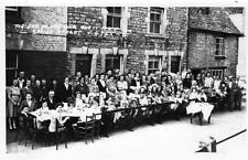 Spring Street Chipping Norton 1945 Tea party RP plain back pc Frank Packer ?