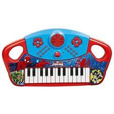MARVEL SPIDERMAN ULTIMATE KIDS BAMBINI MUSICALE TASTIERA PIANOFORTE STRUMENTO TOY