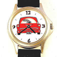 Taz, Bugs Bunny, Marvin RoadRunner Driving Car Fossil Warner Bros. HTF Watch $79