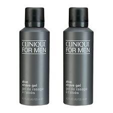 2 PCS Clinique Clinique For Men Aloe Shave Gel 125ml Oil Free Aloe NEW#10765_2