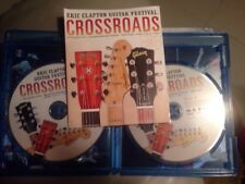 Eric Clapton CROSSROADS Guitar Festival 2013 BLU-RAY disc *Brand New*