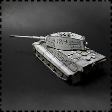 1:35 Scale WW2 Germany Winter Painting Tiger II Heavy Tank Paper Model Kit