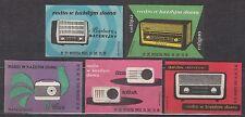 POLAND 1962 Matchbox Label - Cat.Z#242/46I  Radio in every home (II)
