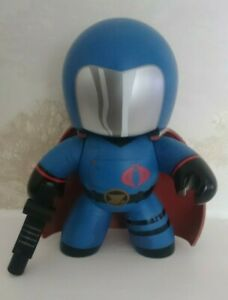 Mighty Muggs - Cobra Commander - G.I Joe - 2008 - Unboxed in Used Condition