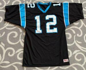 Kerry Collins #12 Carolina Panthers Style NFL Football Jersey Size 46