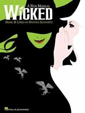 Wicked : A New Musical (2004, Paperback) New