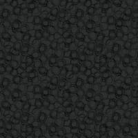 Wallpaper Retro Mid Century Modern Gloss Black Ovals on Matte Black Background