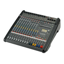 Dynacord PowerMate 1000-3 10 Channel Powered Mixer Mixing Desk 2 x 1000W Effects