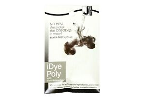 Jacquard iDye Poly Fabric Dye for Polyester & Synthetic Materials - Silver Gray