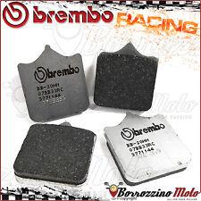 PLAQUETTES FREIN AVANT BREMBO RACING CARBON 07BB33RC DERBI MULHACEN 659 2007