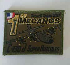 Patch C-130J France Mecanos Super-Hercules Transport Squadron Group Air
