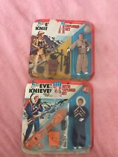 Evel Knievel Resuce Play Sets (2) New In Packages 1975