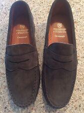 Men's new 10 D Allen Edmonds Cavanaugh Olive Suede Loafers