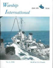 Warship International V35 N1 1998 IJN Army Transport Submarine HMS Kent Navy