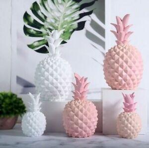 Nordic Modern Home Decoration Pineapple Ornament Resin Craft Window Desktop Home