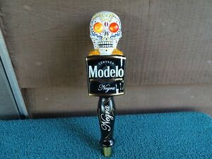 """NEGRA MODELO """"DAY OF THE DEAD"""" MOTION BEER TAP HANDLE,NEW IN THE BOX"""