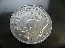 dumbo elephant clowns around 1982 Mardi Gras Doubloon Coin new orleans