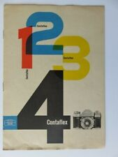 295 - Pub Appareil photo Contaflex I-II-III-IV -  Zeiss Ikon - Germany 1953/56