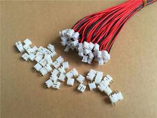 20SETs JST PH 2.0mm 2-Pin Stecker & Buchse Stecker mit Kabel Kabel