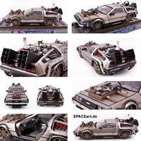 Zurück in die Zukunft 3: Delorean - Schienen-Version | Fertig-Modell | Sun Star