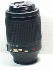 NIKON VR AF-S 55-200mm ED DX Lens D5500 D5300 D5400 D5200 D5100 D5000 D3200 UHD