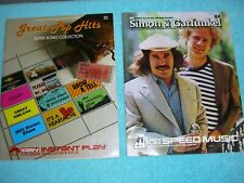 Simon & Garfunkel and Pop Music Books complete Detailed Music Notes!