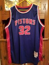 Detroit Pistons NBA Mitchell & Ness Hardwood Classic R. Hamilton#32 Size 3XL