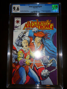 ARCHER & ARMSTRONG #8 ETERNAL WARRIOR #8 CGC 9.6 1992 VALIANT COMIC MOVIE COMING