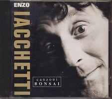 ENZO IACCHETTI - Canzoni bonsai - CD RARO 1991 MINT CON