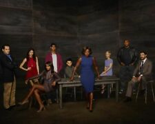 How to Get Away with Murder [Cast] (60751) 8x10 Photo