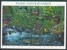 US Sheet MNH #3378 33c Pacific Coast Rain Forest ,  3378