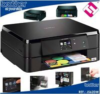 IMPRESORA MULTIFUNCION COLOR BROTHER DCP J562DW WIFI DUPLEX TINTAS X MENOS DE 3€