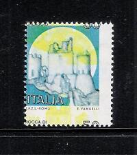 Varietà Repub. 1980 Castello Rocca di Calascio L. 50 Nuovo illing. New MNH