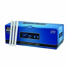 2 BOXES- Zen White/Light King Size Tubes-500ct Cigarette Tubes RYO-SAME DAY SHIP