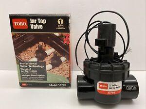 Toro 53708 1-Inch Jar Top Underground Sprinkler System Valve - NIB - FREE SHIP