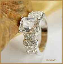 adda5c9409c9 Anillos de joyería anillo con piedra blanca