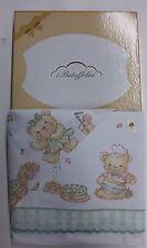 Completo lenzuola baby lettino Battuffolini stampato per culla 100% Cotone.N180