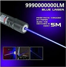 450nm Super Bright Blue Laser Pointers Power Flashlight Combustion