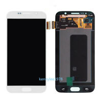 For Samsung Galaxy S6 G920 G920F LCD Display Touch screen Digitizer white+cover